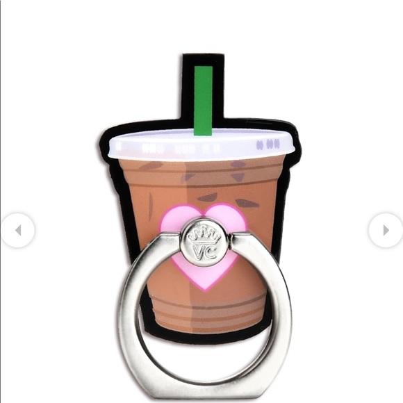 Velvet Caviar Iced Coffee Phone Ring